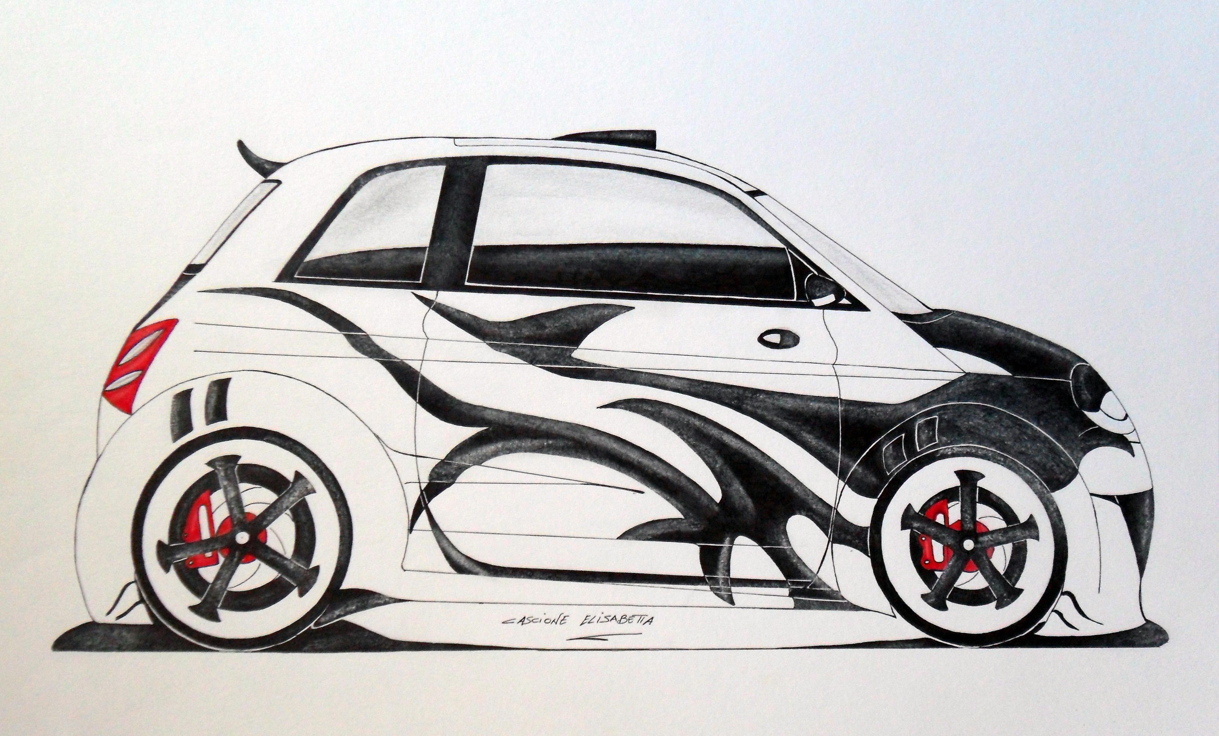 Lato Fiat 500