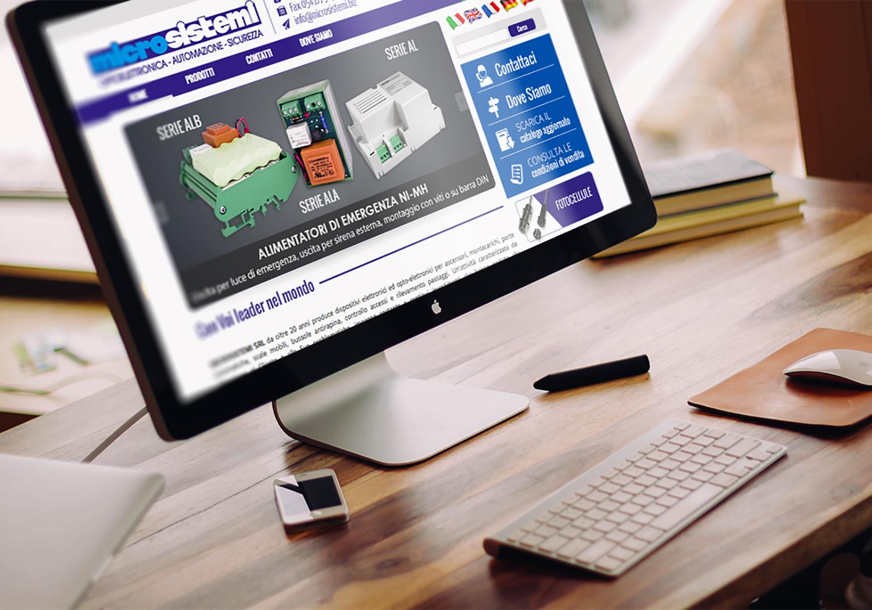 Microsistemi - Restyling sito e-commerce San Marino